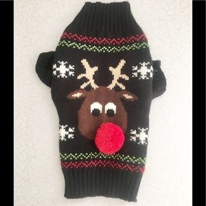 Other - Adorable Rudolph 🎁🎄doggie sweater!